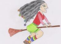Království vzduchu - Košťata, děvčata a létající květy